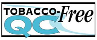 Smaller Tobacco Free QC logo
