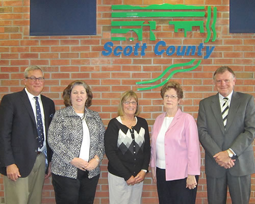 Photo of the members of Board of Health