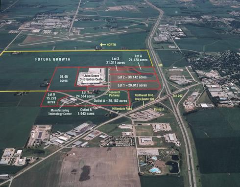 Eastern Iowa Industrial Center Scott County Iowa - Map of eastern iowa
