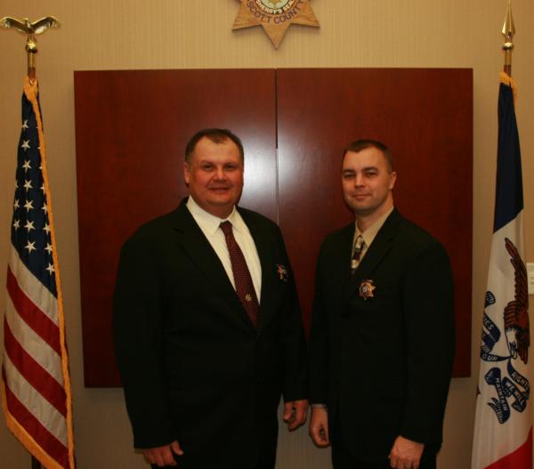 Chief Deputies Take Office | Scott County, Iowa
