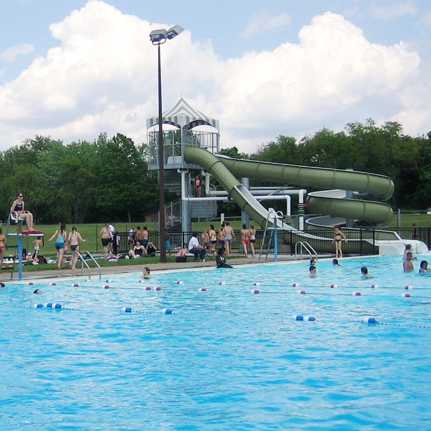 Swim Lessons At Scott County Park Scott County Iowa