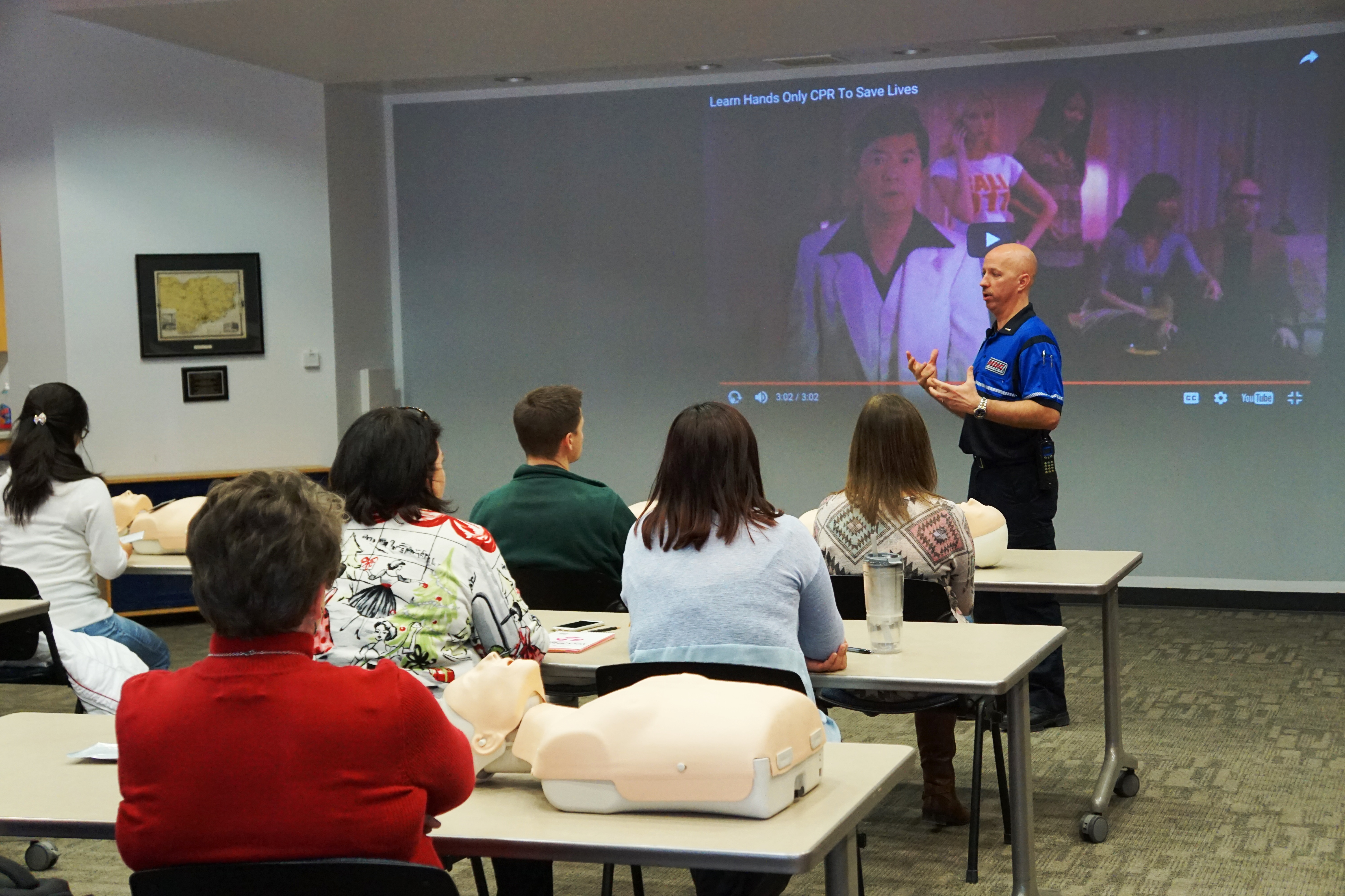 Hands Only Cpr Training Scott County Iowa