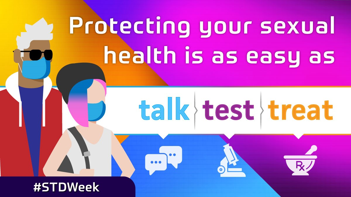 Protecting your sexual health is as easy as talk, test, treat