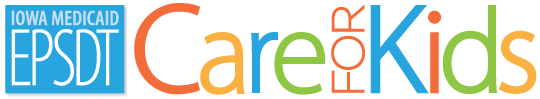 Iowa Medicaid EPSDT Care for Kids logo.
