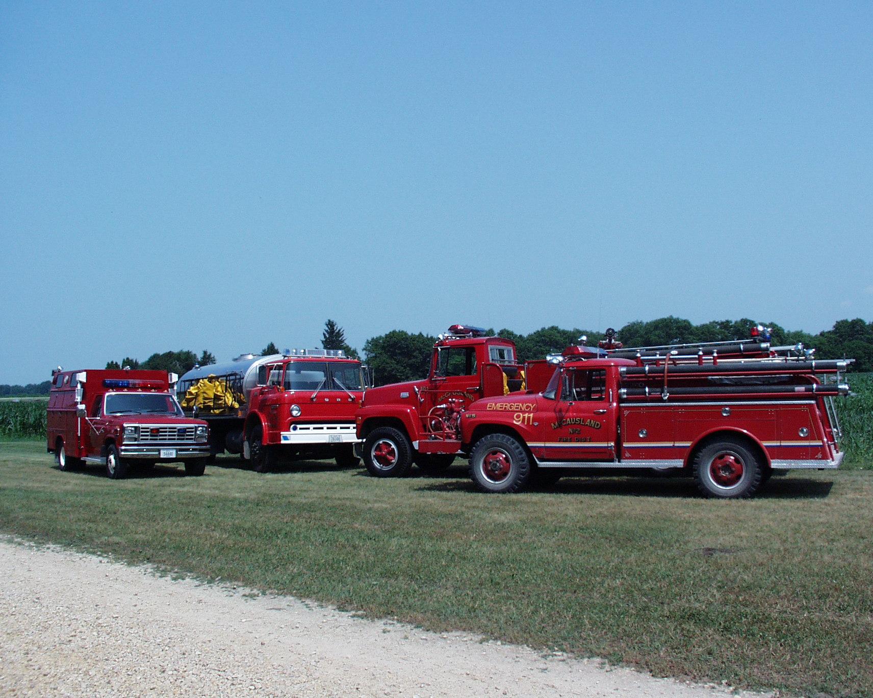 Mccausland fire department scott county iowa mccausland fire department fire trucks publicscrutiny Images