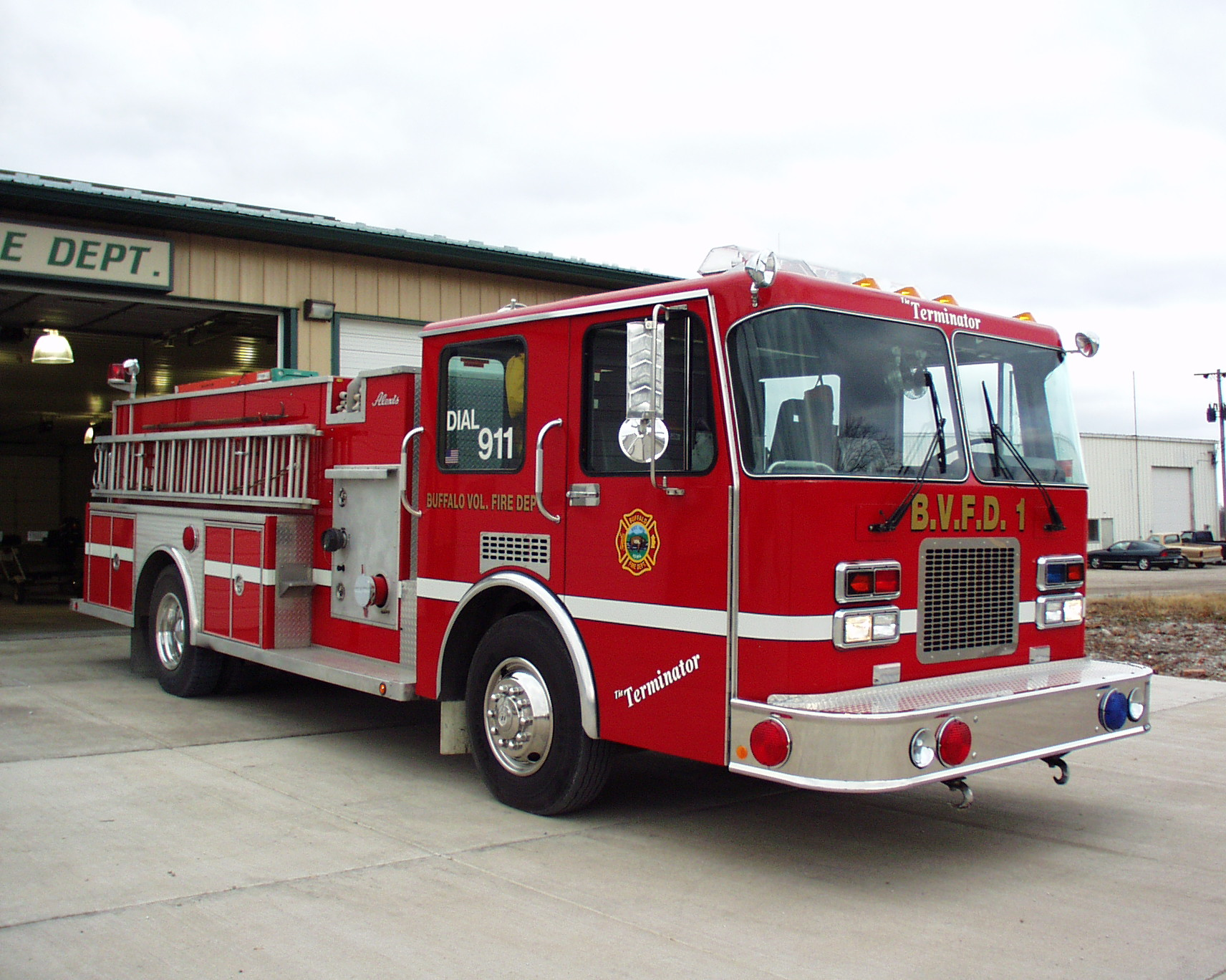 Buffalo Fire Department Scott County Iowa