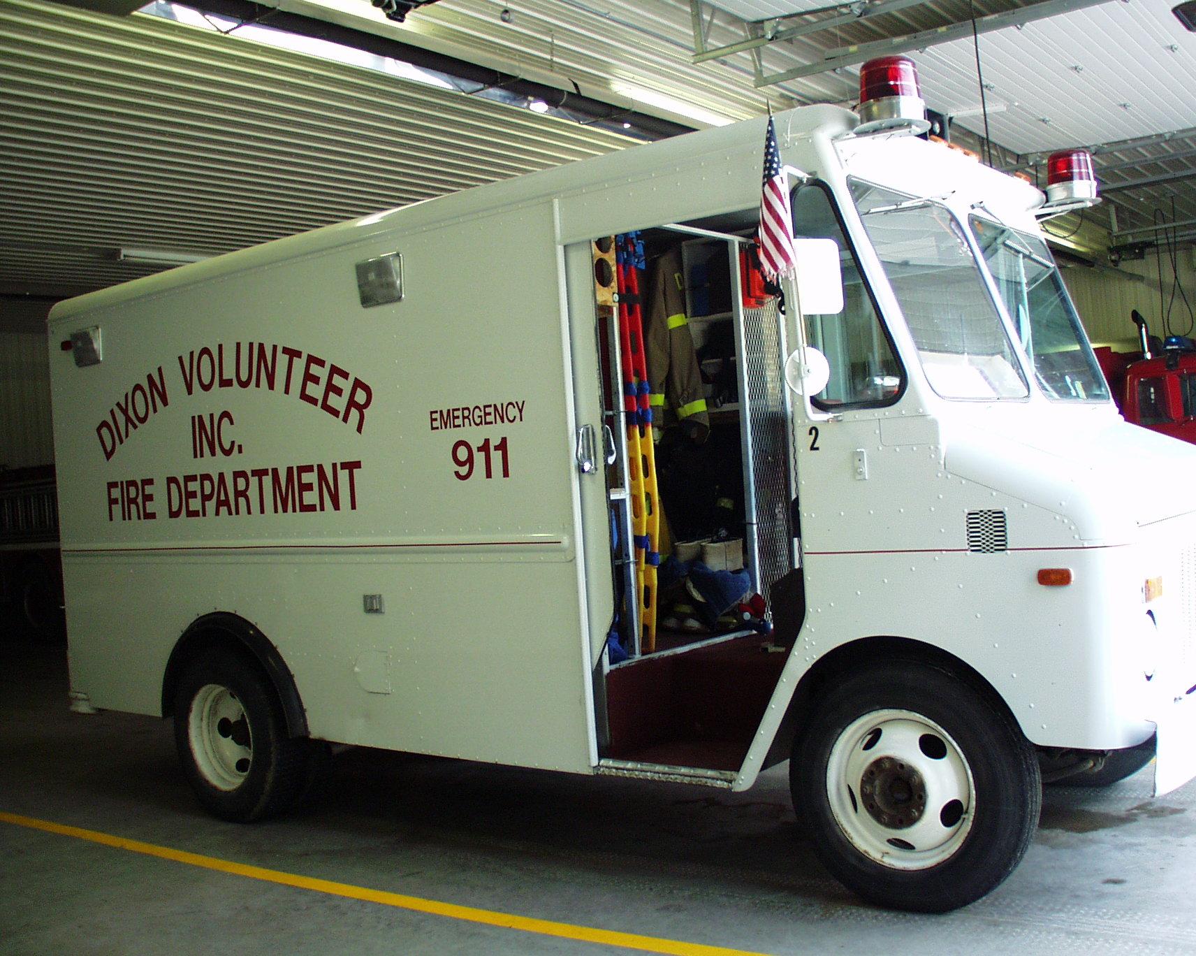 Dixon Volunteer Fire Department Scott County Iowa