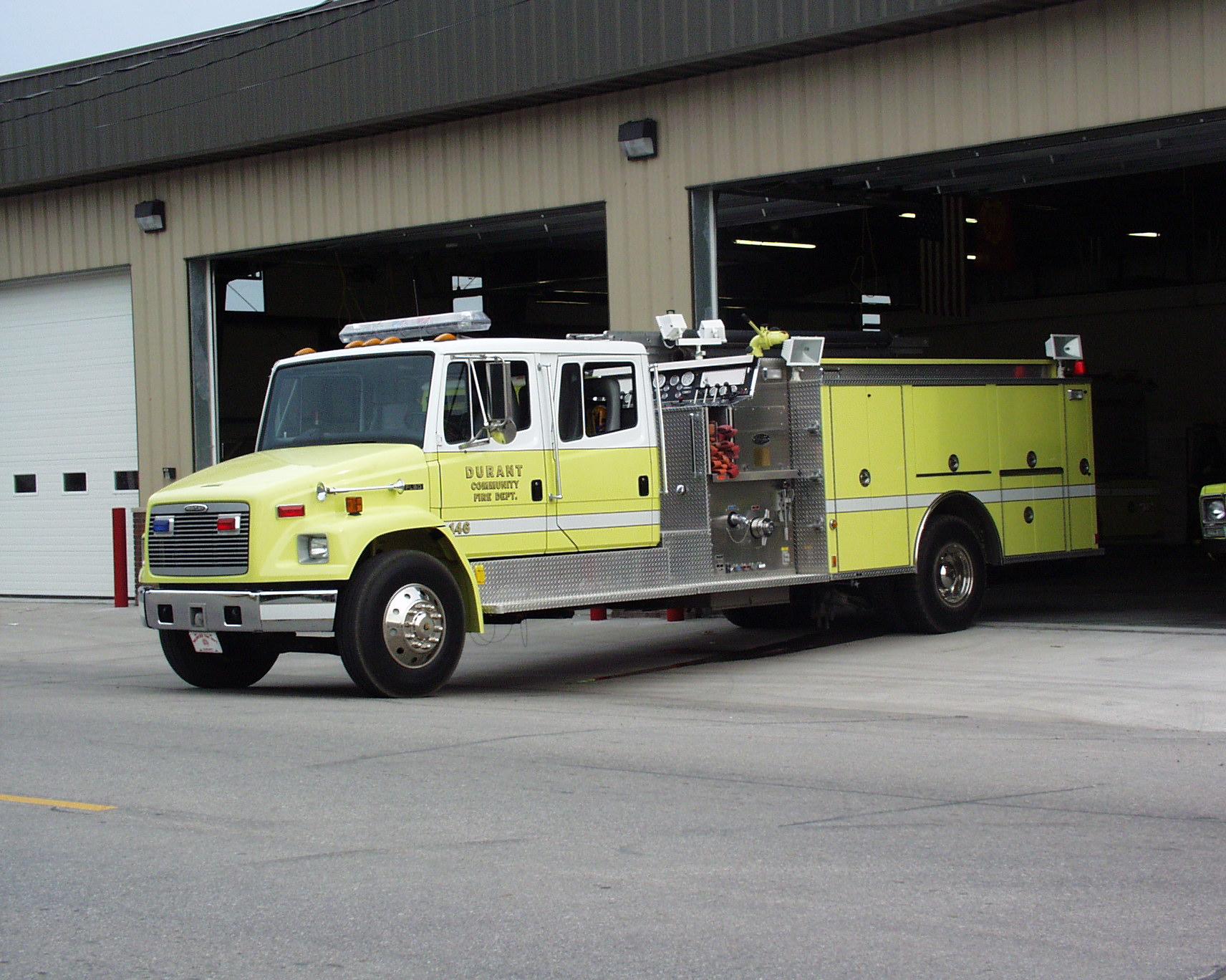Durant Volunteer Fire Department | Scott County, Iowa