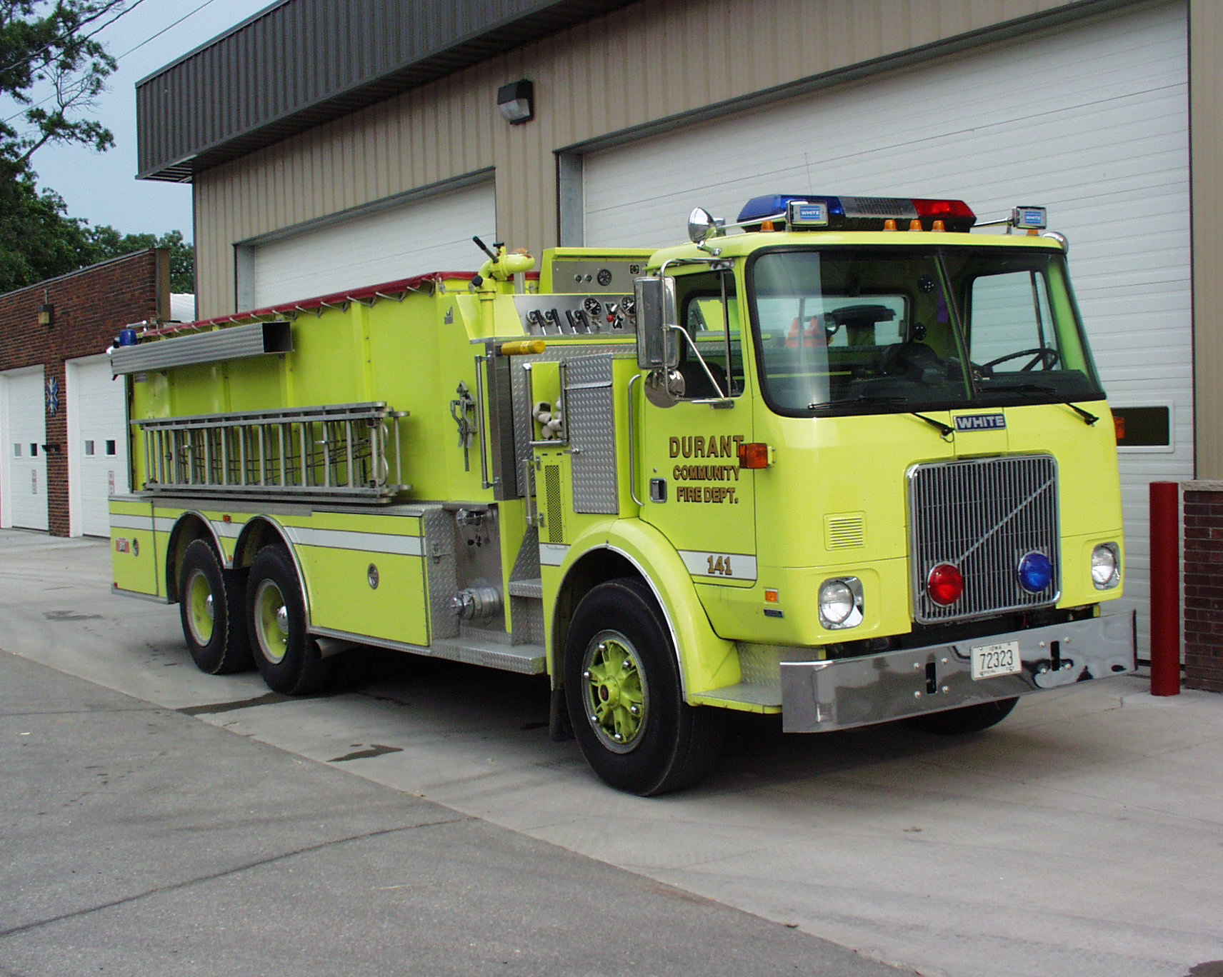 Durant Volunteer Fire Department Scott County Iowa