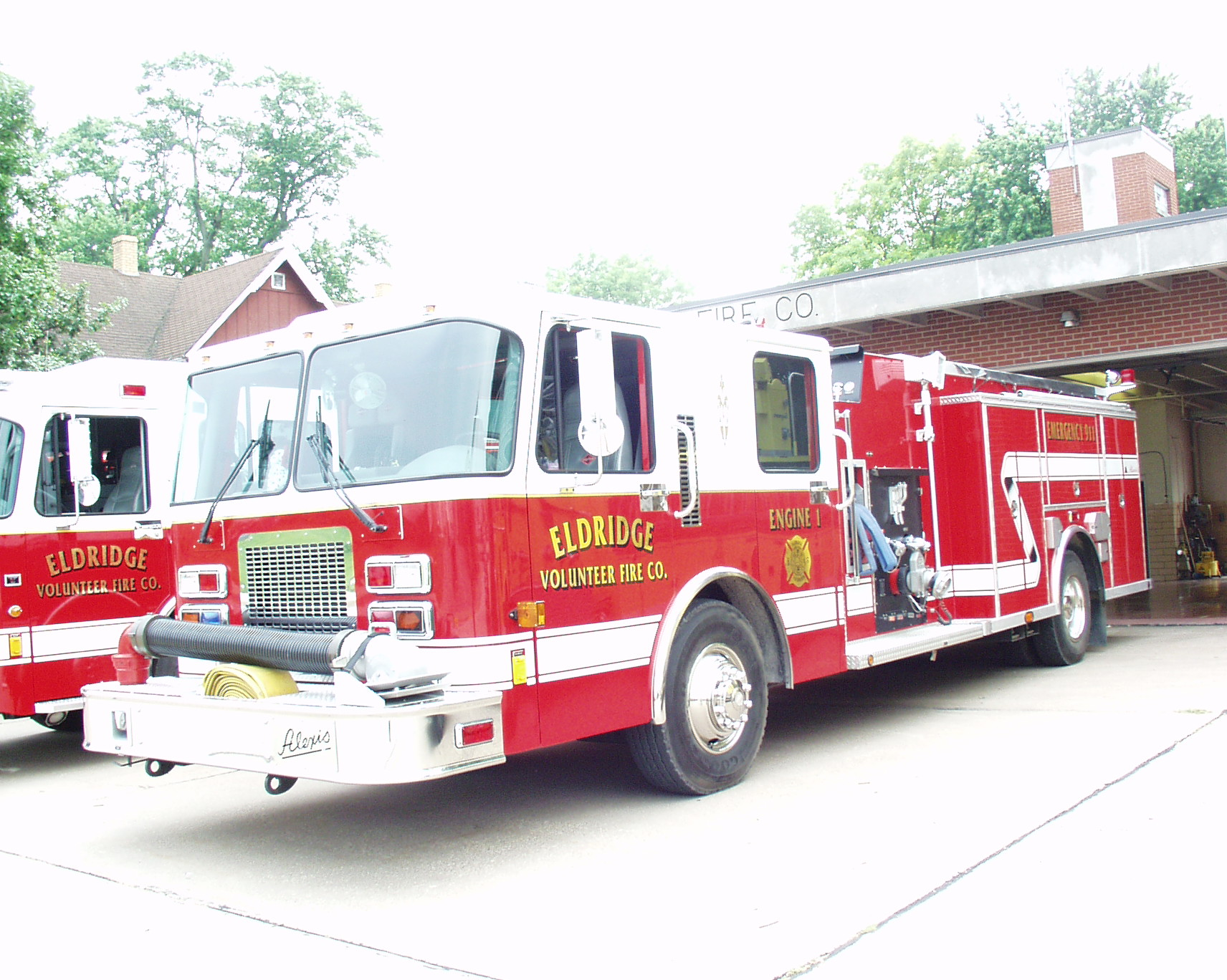 Eldridge Volunteer Fire Department Scott County Iowa