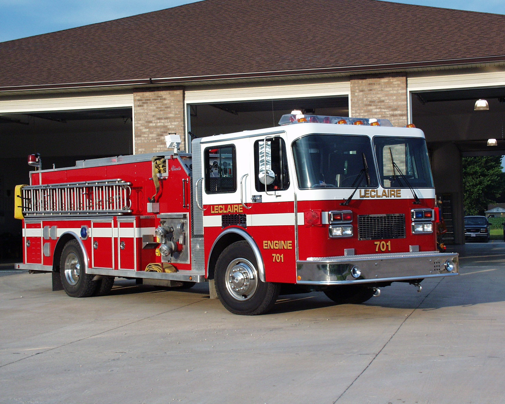 Leclaire Fire Rescue And Ems Department Scott County Iowa