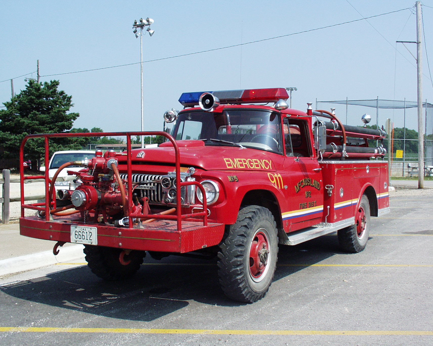 Mccausland Fire Department Scott County Iowa
