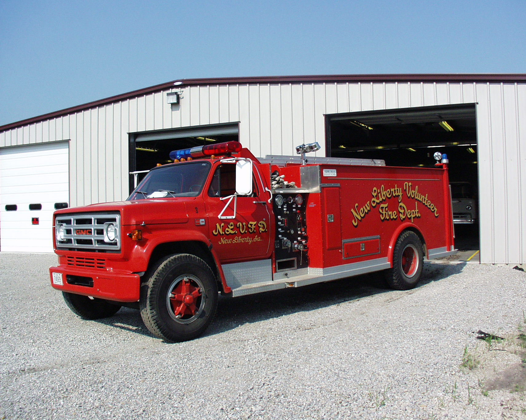 New Liberty Fire Department Scott County Iowa