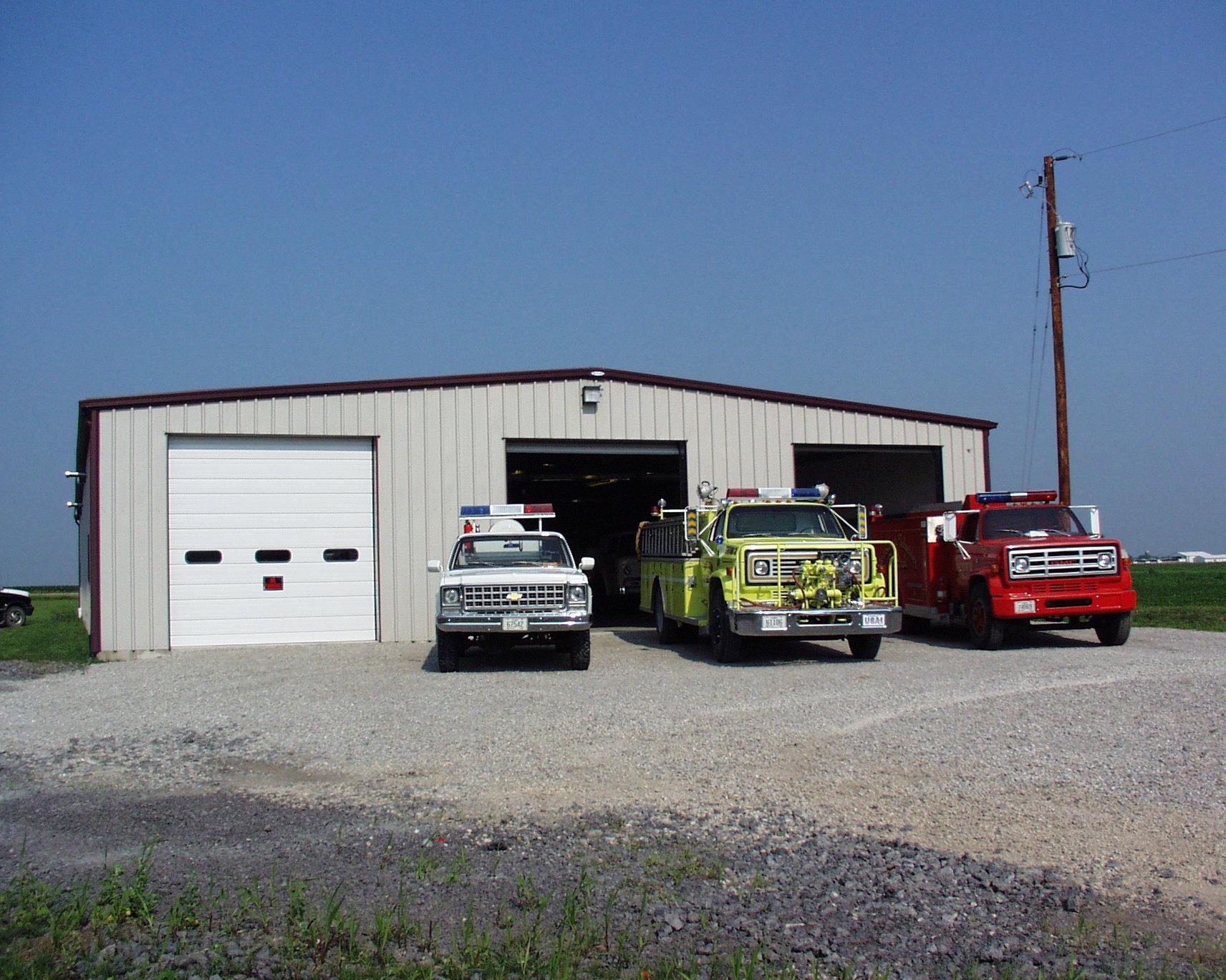 New Liberty Fire Department Scott County Iowa