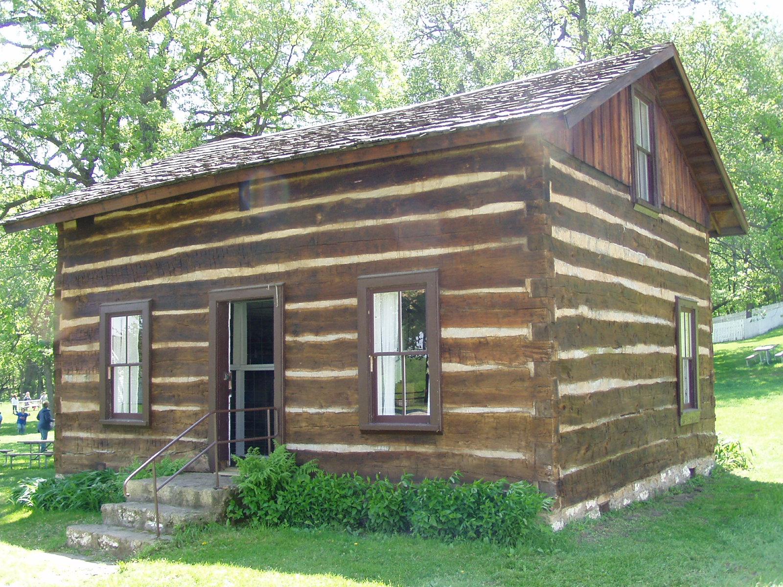 Shaff Cabin Scott County Iowa