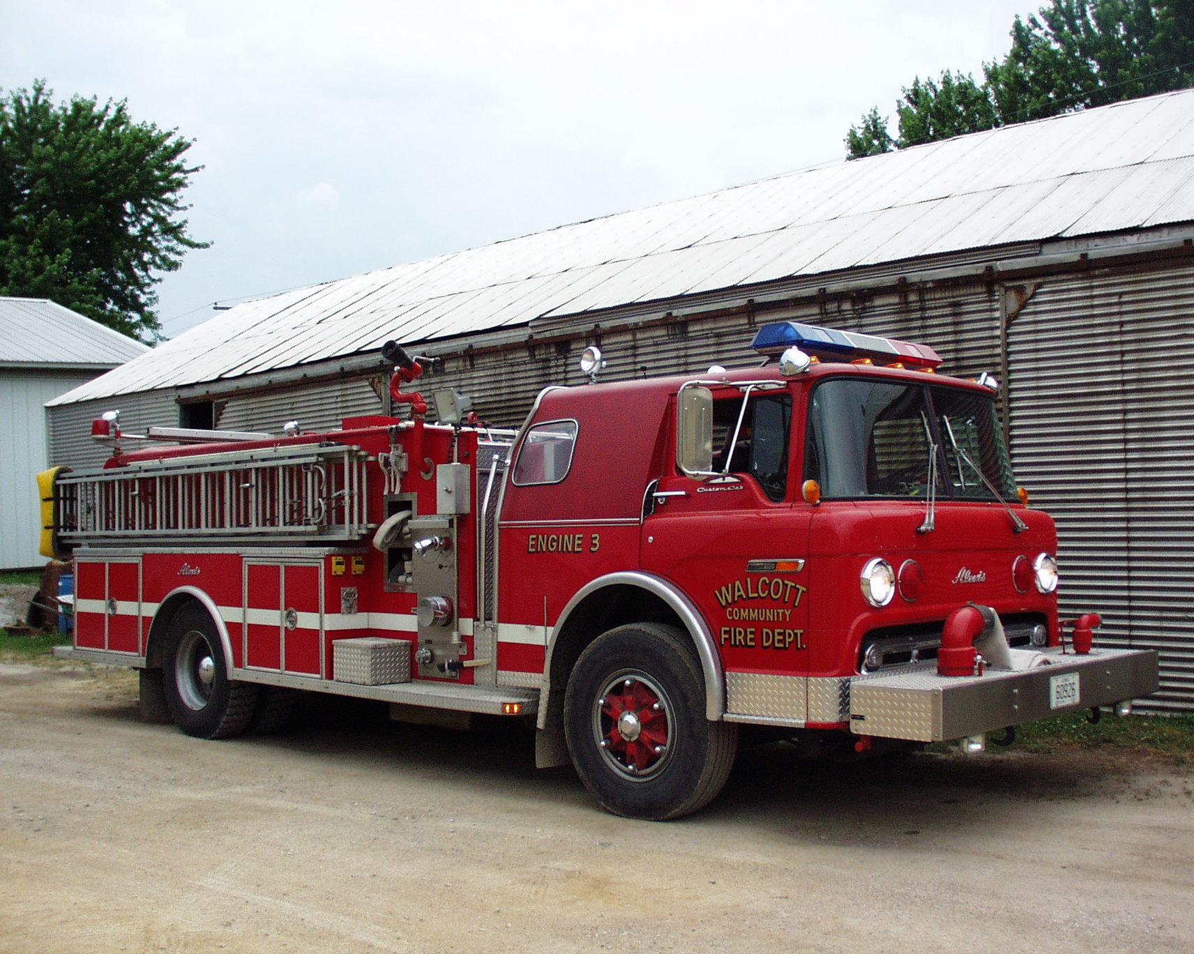 Walcott Fire Department Scott County Iowa