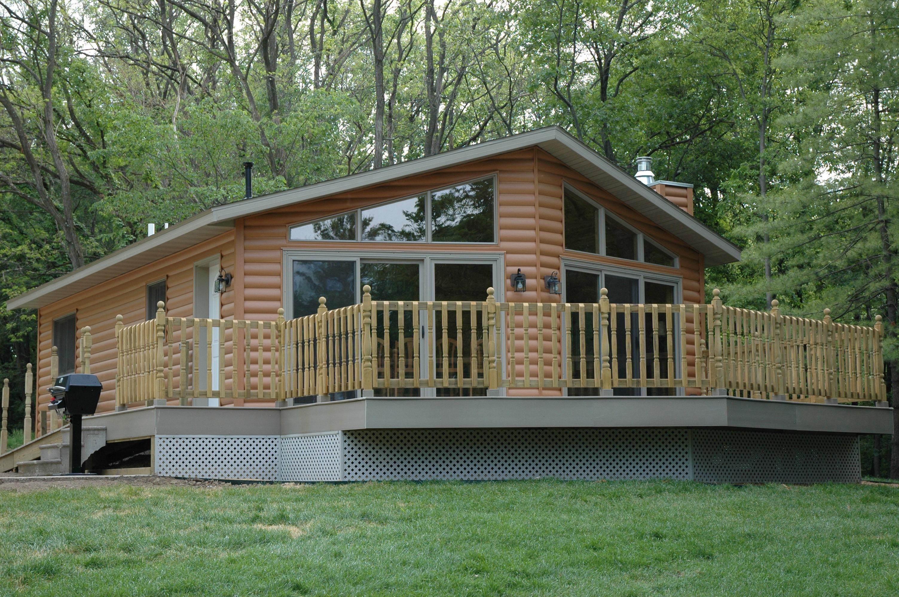 Pine Grove Cabins Scott County Iowa