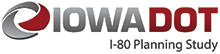 Iowa DOT Planning Study Logo.