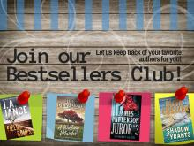 This is a picture of a poster for the Bestsellers Club