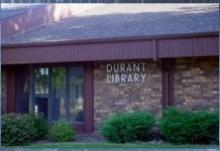 This is a picture of the Durant Branch