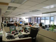 Staff working in the Recorder's Office.