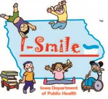 The I-smile logo.