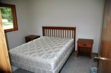 Pine Grove Cabin bedroom 1.