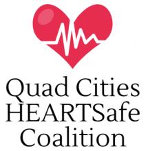 Quad Cities Heart Safe Coalition Logo.