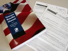 The veterans benefits manual and forms.