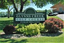 Glynns Creek welcome sign.