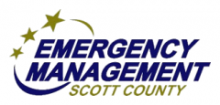 Emergency Management of Scott County Logo.