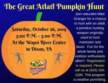 Flyer advertising the event.