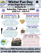 Flyer advertising the event