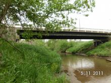 305th Street bridge between Scott Park Road and 195th Avenue.
