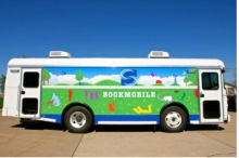 This is the Scott County Library System bookmobile.