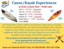 flyer with program information