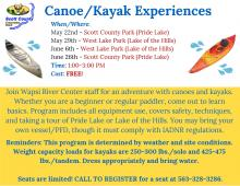 flyer with program info and dates
