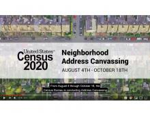 Screen shot of Census Address Canvass Operation.