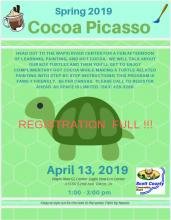 flyer about event with registration is full
