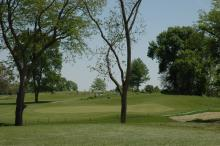 Photo of the golf course landscape