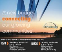 A new bridge connecting our growing communites!