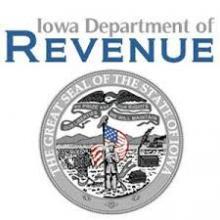 Iowa Department of Revenue logo.