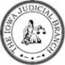 The Iowa Judicial Branch Logo.