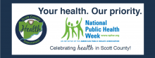 National Public Health logo: Your health. Our priority