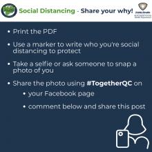 Social Distancing Print Instructions