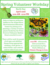 flyer showing the information about the event