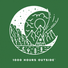 1000 Hours Outside logo