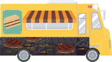 This is a picture of a food truck