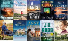 This is a picture of the book covers for the September 2019 new releases