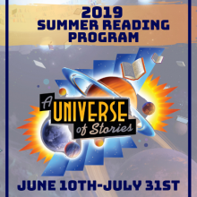 This is a picture of the artwork for the Summer Reading Program
